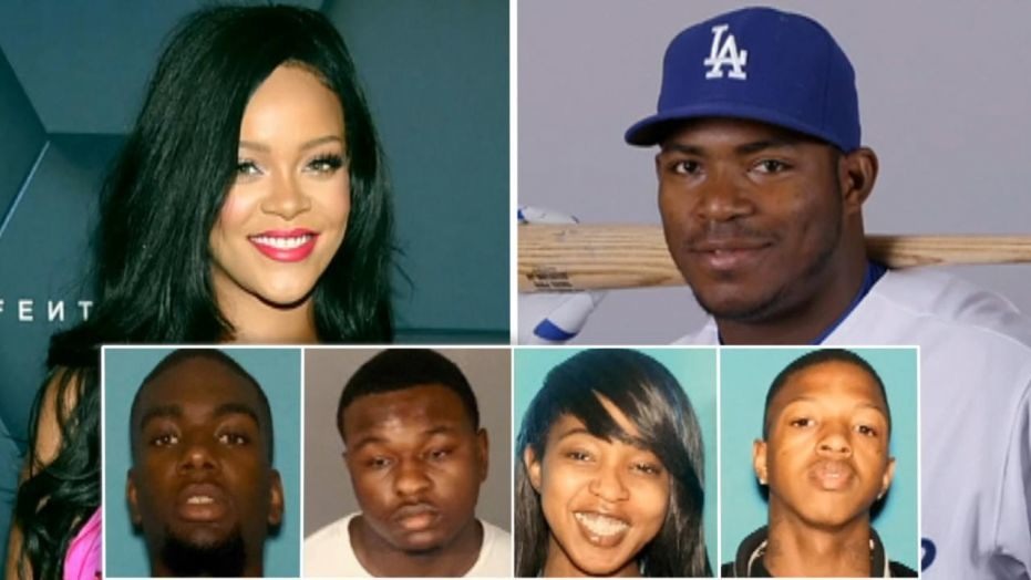 Arrests made in Burglary-Ring that targeted Rihanna, Yasiel Puig, other celebs