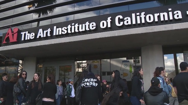 Art institute in North Hollywood Abruptly Closes on Students