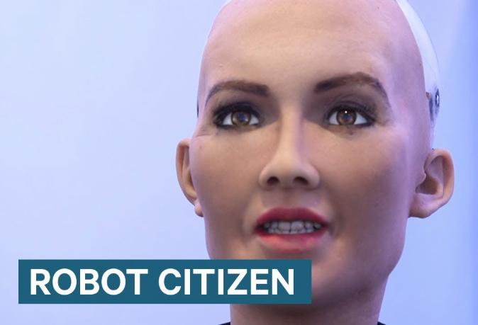 Was Granting A Robot Citizenship Revolutionary or Self-destructive ?
