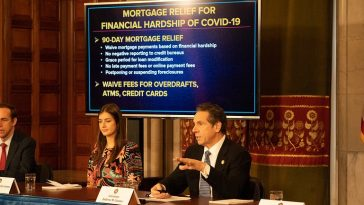 New York Governor Issues Directive for 90-day Mortgage relief