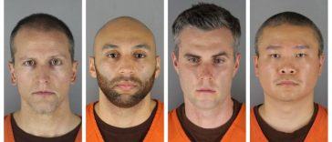 All four officers charged