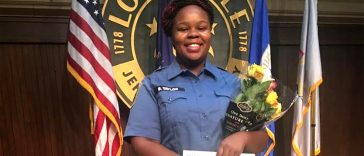 "EMT and aspiring nurse Breonna Taylor, 26, was shot to death by police in her own home on March 13. In what's been described as a ""botched raid,"" officers barged into Taylor's apartment in Louisville, Kentucky, as she lay sleeping, and fired multiple rounds."