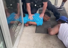 Police and Concerned Citizen Use Amazing Compassion and Teamwork to Arrest Man