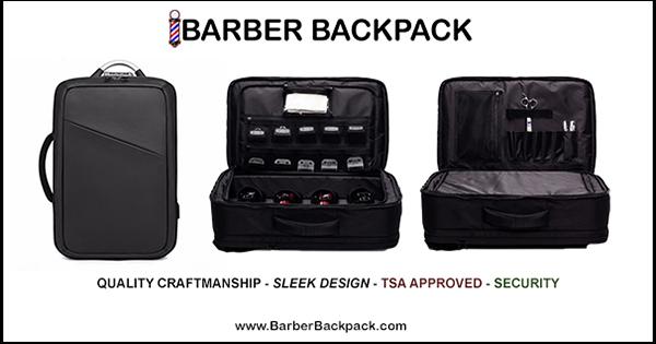 Barber Backpack Bag