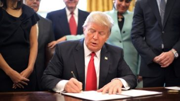 Donald Trump and Executive Order 13772