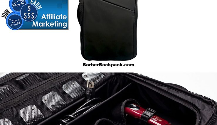 Barbers, Hair Stylists, and Entrepreneurs are Earning 20-30% Commission From Affiliate BarberBackpack.com sales