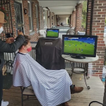 Many D.C. barbers Go mobile with Barber Backpacks to Cut Clients on the Go