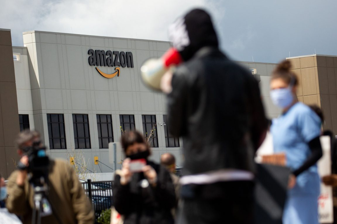 New York attorney general sues Amazon over Covid-19 shortfalls