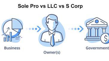 Sole Pro vs LC vs S Corp